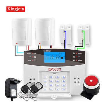 Wifi GSM PSTN Alarm System Wireless & Wired Detectors Alarm Smart Home Relay Output APP English/Russian/Spanish/France/Italian english french russian spanish voice wireless wired home security gsm alarm system lcd display touch keypad