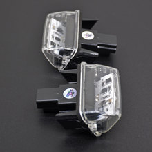 2x Car License Plate Lamps LED Custom License Plate Lights For Toyota Yaris 2012-2014 / Camry 2013-2014 / Auris 2009 - 2010