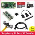 Original raspberry pi zero w com 5mp 1080 p câmera de visão noturna caso acrílico gpio cabeçalho dissipador calor alumínio para raspberry pi 0 w