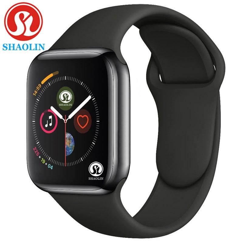 Смарт-часы серии 6 с Bluetooth, чехол для смарт-часов Apple iOS iPhone Xiaomi Android, не Apple Watch (красная кнопка)
