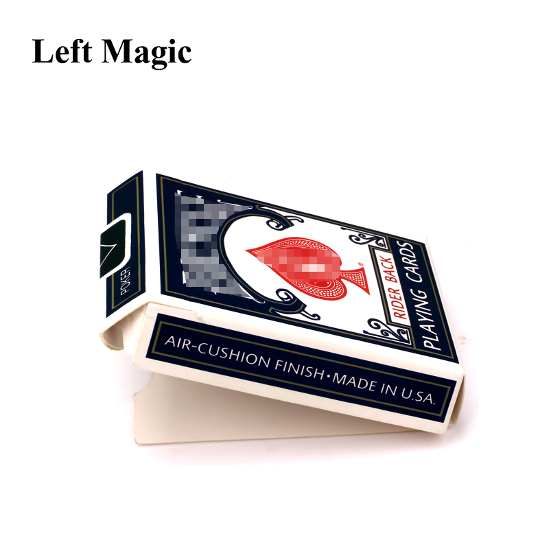Loaded By Marcus Eddie Magic Tricks Empty Box Appear Deck Card Magic Close-Up Street Stage Card Magic Props Toys Comedy G8132