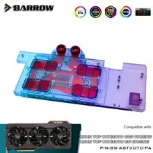 Barrow GPU Water Block For ASUS TUF RTX 3070 08G Gaming, GPU Cooler Full Covered Video Card Radiator 5V ARGB, BS-AST3070-PA