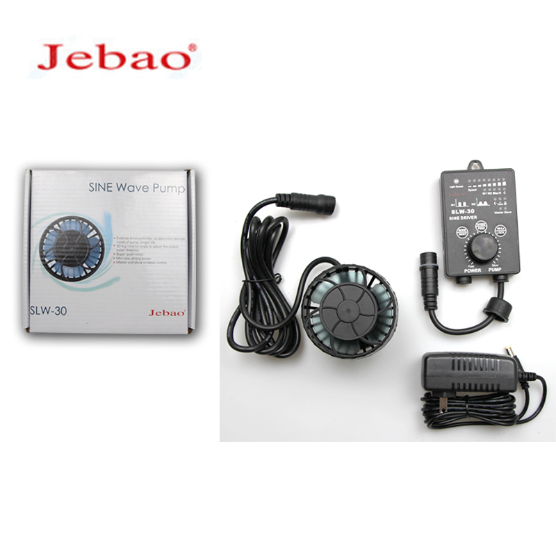 NEW Jebao Fish Tank Frequency Conversion Wave Pump Surf Pump Ultra Quiet Freshwater Sea Water Mini Water Pump SLW