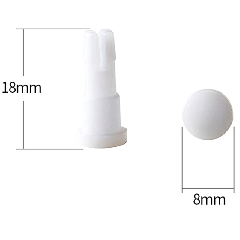 1 Pair Ophthalmic Universal Plastic Pin For Optical Chin Rest Paper Tag Pins Hot