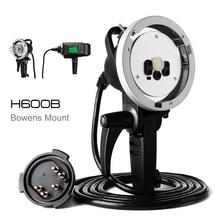 Godox Cabezal de extensión de Flash portátil, AD H600B H600B, 600Ws, con montaje Bowens, se conecta AD600, AD600B, AD600BM, cabeza alimentada por batería