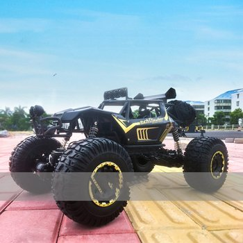 1:8 Super Large Alloy Body RC Car 4WD Scale 2.4G Remote Control Off Road Vehicle Climbing RC Buggy Children's toy car gift Model 1