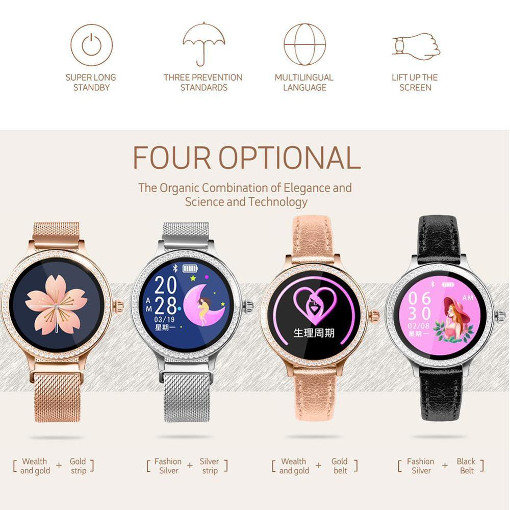 <font><b>M8</b></font> <font><b>Smart</b></font> <font><b>Watch</b></font> Women Wristband IP68 Waterproof Lady Band Health Bracelet Tracker Heart Fitness Rate Wristwatch Monitor Smar P7I5 image