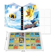 Nouveau 9 Poche 432 Pièces Album Cartes Pokémon Livre Bande Dessinée GX Jeu Porte-Carte Carte Dossier Collection Carte Chargé Liste Jouets Pour Enfants Cadeau