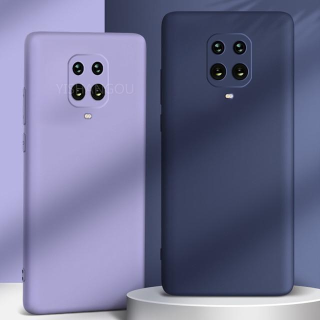 Liquid Silicone Case Cover For Xiaomi POCO X3 Pro M3 F3 11 10T Redmi Note 10 Pro 8 9A 9T K40 Soft Case For Redmi Note 9 Pro Case 3