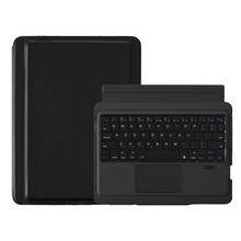 Wireless Keyboard Case dengan Touchpad Nirkabel Bluetooth Keyboard Case untuk iPad Pro 10.5-Inch Tablet PC(China)
