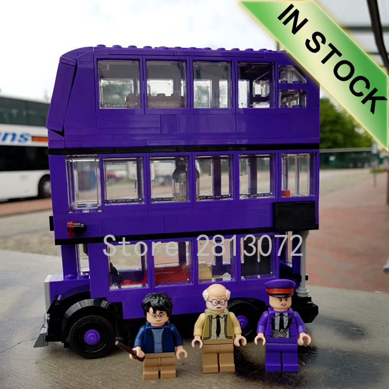 H Potter Series The Knight Bus 75957 11342 Preorder Building Block 400+Pcs Bricks Toy Gifts Kit Movie