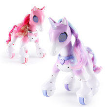 Electric Intelligent Horse Electronic Pet Remote Control Unicorn Children New Style Robot Touch Sensitive Educational Toy(China)