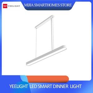 Image 1 - Original xiaomi mijia YEELIGHT Meteorite LED Smart Dinner Pendant Lights smart Restaurant chandelier work with for mi home app