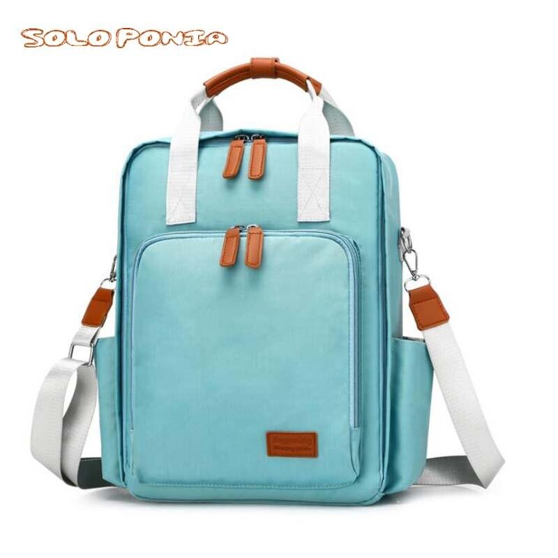 Fashion Mummy Maternity Nappy Bag Large Capacity Nappy Bag Travel Backpack Nursing Bag for Baby Care Women's Fashion Bag zwx1912