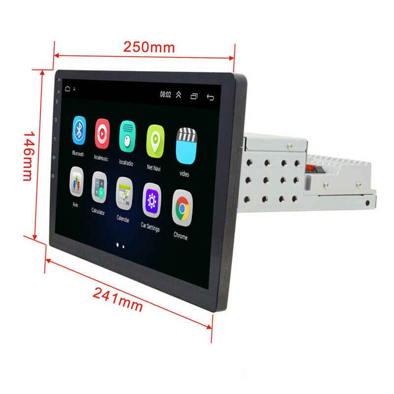 2 + 32G Android 9.1 1din 10.1 Cal samochodowe multimedia 1 din radio samochodowe Gps FM USB jeden Din radio samochodowe samochodowe stereo uniwersalny 50
