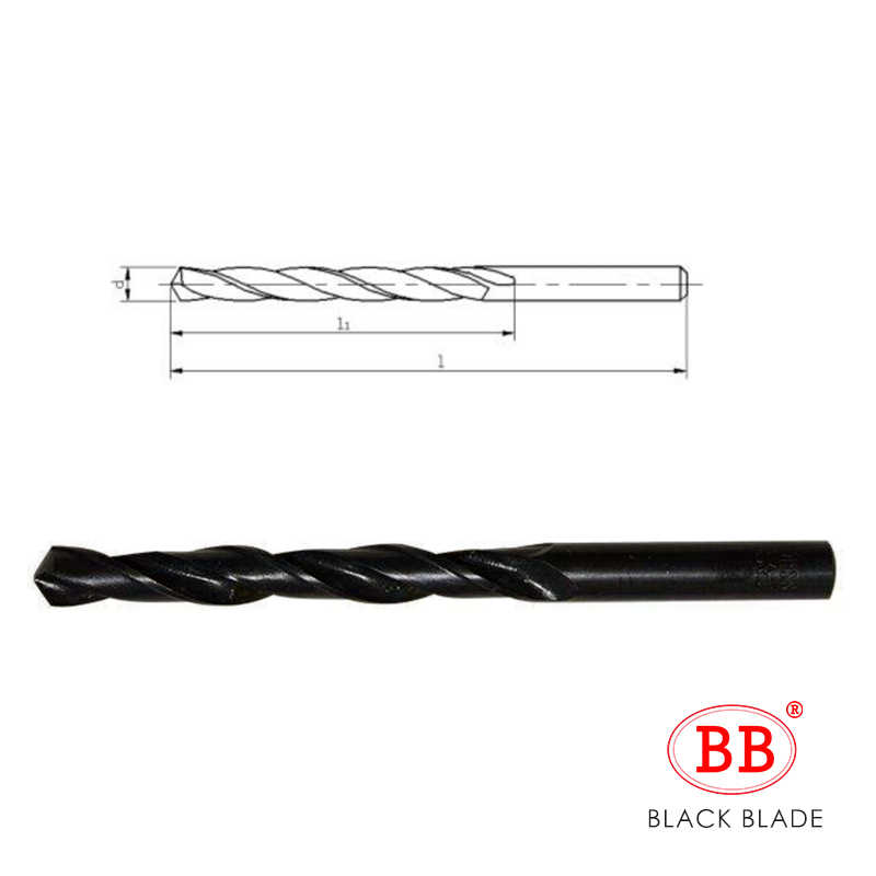 Foret hélicoïdal BB HSS oxyde noir minuscule Micro Mini diamètre 0.2mm ~ 20mm trou 10 pièces pour métal bois PVC