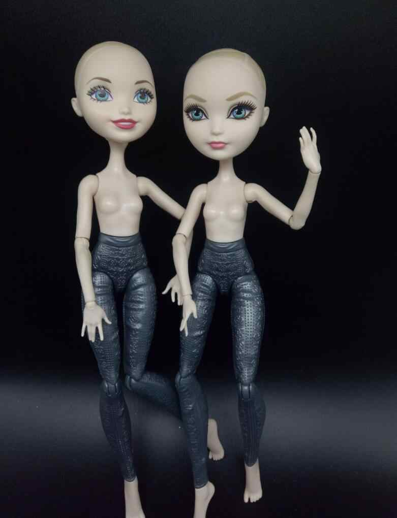 original monsters fairy tale fairy dolls body + head for dolls