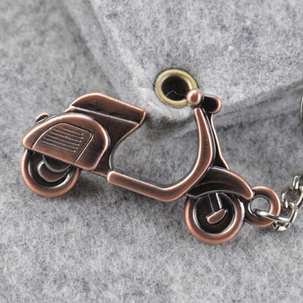 3D Motorcycle Car Key Ring Chain Scooter Keychain Keyfob Keyring Pendant