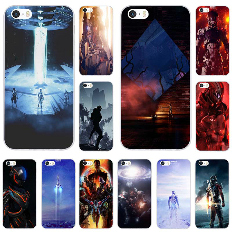 Mass Effect Andromeda Soft TPU Mobile Phone Cases Cover for iPhone X XR XS Max 10