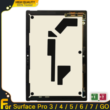Display LCD originale per Microsoft Surface Pro 3 1631 Pro 5 1796 Pro 4 1724 Assembly per surface Pro 7 1866 GO 1824 Touch Screen
