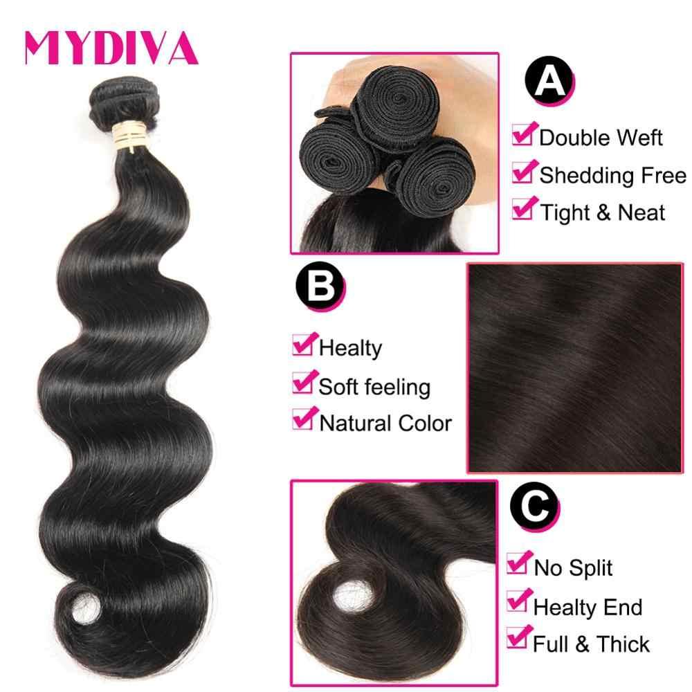 Body Wave Brazilian Hair Weave Bundels 100% Human Hair Bundels 3 4 Pcs 30 32 34 36Inches Natuurlijke Kleur remy Hair Extensions
