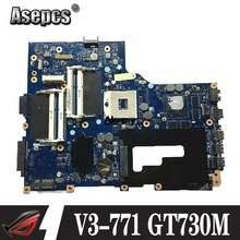 NBM7Q11001 Nb. M7Q11.001 VA70 VG70 UNTUK ACER Aspire V3-771 V3-771G Motherboard Laptop 17.3 Inch HD4000 GT730M/GT650M DDR3(China)