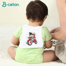 100% Cotton Septum For Male Baby White Gauze Scarf The 3 Layers Is More Absorbent And More Breathable 44*20Cm