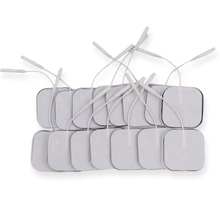 50/100 Pcs 5X5 Cm Herbruikbare Tens Elektroden Zelfklevende Massage Patch Zenuw Spier Stimulator Digitale Fysiotherapie Massager