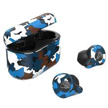 fiil t1x tws true wireless earbuds in ear bluetooth earbuds DishyKooker  Camouflage TWS True Wireless 5.0 Bluetooth Headset In-Ear Stereo Earbuds Headset