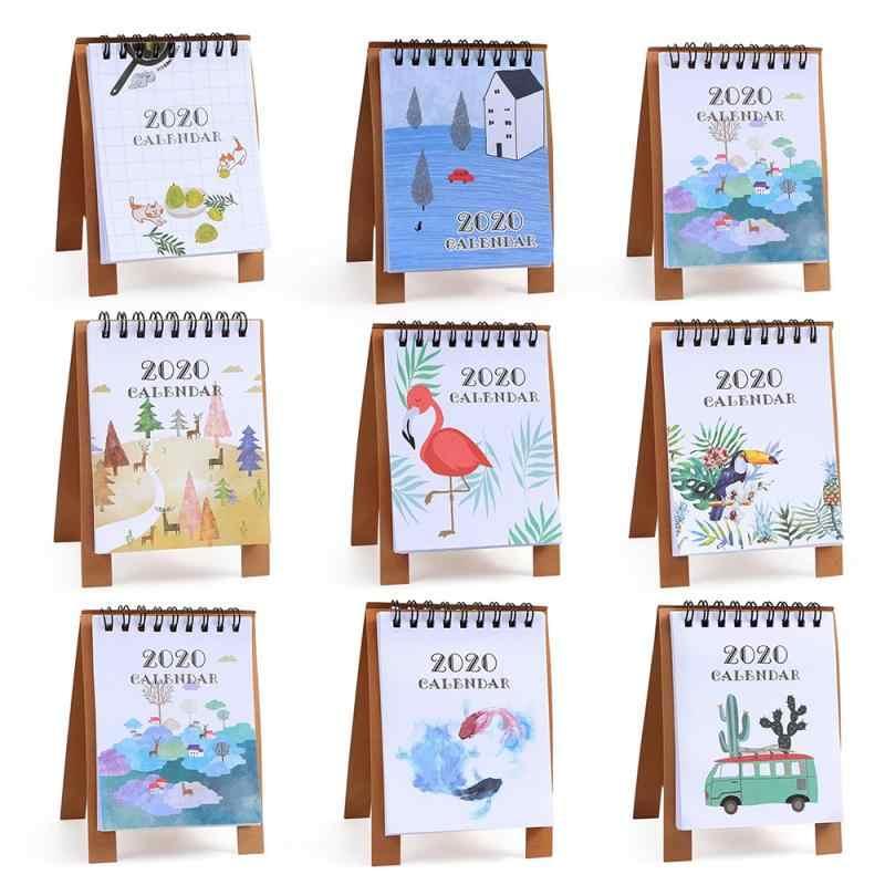 Dessin manuel calendrier de bureau | Décor de maison, rappel du temps annuel, calendrier Vertical, Simple planificateur papier bobine, décoration du carnet de notes de maison