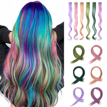 Hair-Clip Women Synthetic-Hair-Extensions One-Piece-Strips Long Xbwig for Curly 12pcs/Set