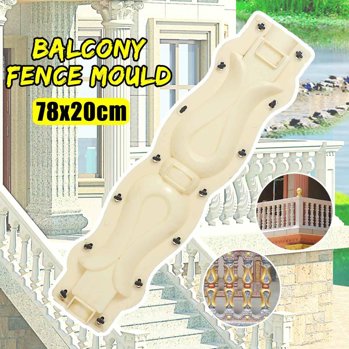 Leitplanke Balkon Zaun Form Balustraden Form Gips Zement Stein