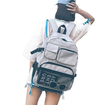 school bags for teenage girls boys 2020 Student BagPack Black Teens Men Women Backpack Schoolbag Female back pack