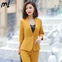 Women Work Pant Suits OL 2 Piece Sets Business Professional