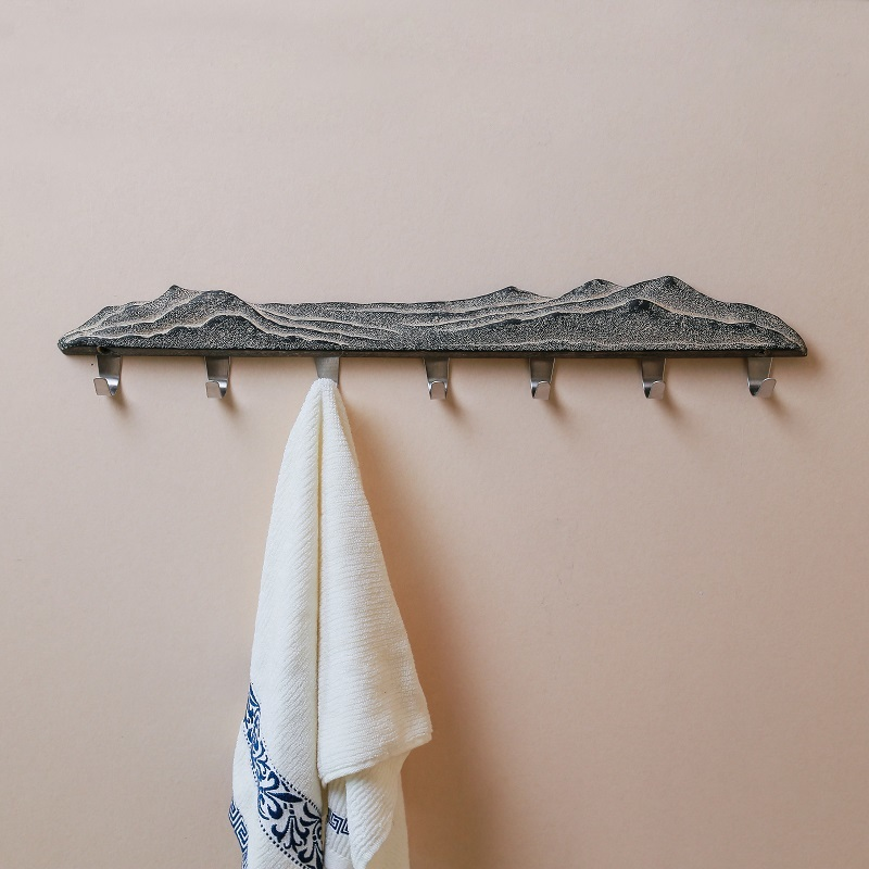 Nouveau Style chinois serviette un crochet salle de douche toilette un salon porte arrière Peg chapeau pendentif Arts originalité cintre