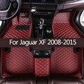 Автомобильные коврики в салон для Jaguar XF 2008 2009 2010 2011 2012 2013 2014 2015 пользовательские авто тормозные колодки