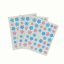 3Pcs Flower designs transfer water decal Nail Art Floret pattern nail sticker Decoration for Manicure Watermark E10