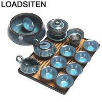 주방 장식 Keukenhulpjes Theepot 초라한 세련된 Infuser Kuchnia 침실 장식 Gongfu Teaware Pot 중국 중국 차 세트