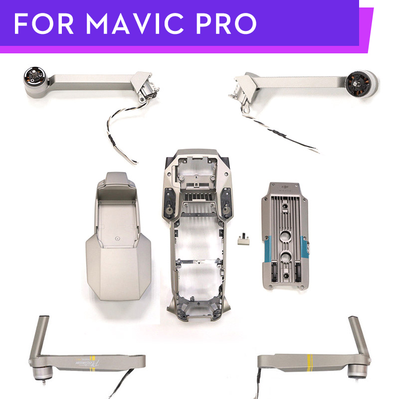 Original Mavic pro Platinum Front Rear Back Left Right Motor Arm DJI Mavic Pro Platinum Body Shell Repair Parts