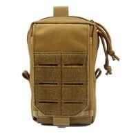 Caça ao ar livre molle edc bolsa utilitário gadget cinto saco da cintura portátil à prova dportable água acampamento caminhadas sacos Mochilas escal.     -