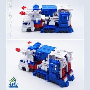 Image 5 - التحول G1 الترا ماغنوس قائد MFT MF 08 MF08 جيب الحرب كو عمل الشكل روبوت بوي جمع اللعب
