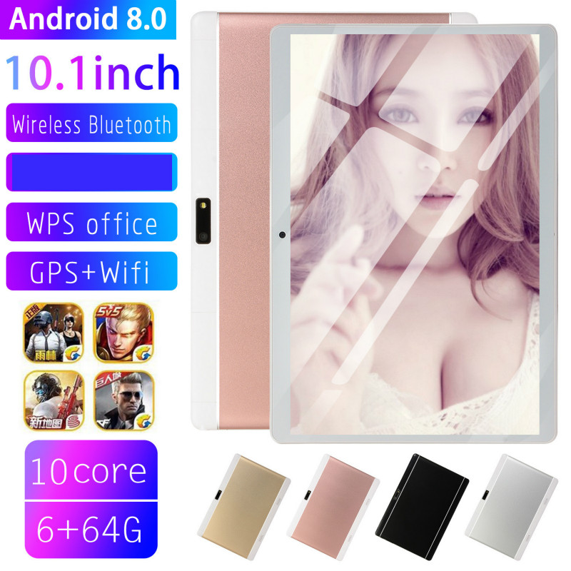 2020 Free Shipping 10 Inch 4G Phone Tablet PC Android 8.0 Octa Core RAM 6GB ROM 128GB 1280x800 IPS Tablets Pc Kids Tablet
