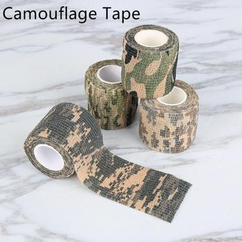 4.5m Camouflage Outdoor Hunting Shooting Camo Stealth Duct Tape Waterproof Camping Stickers Outdoor Gadgets Home Improvement 1
