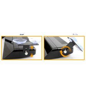 Image 5 - 1 세트 12 LED 고강도 차량 비상 위험 경고 스트로브 플래시 라이트 대시 데크 그릴 앞 유리 Led 자동차 라이트