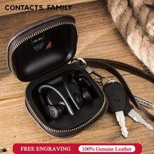 Contact's family нубуковый чехол для наушников powerbeats