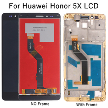 5.5 High-quality LCD For Huawei honor 5X touch screen digitizer Display assembly for GR5 Screen parts repair kit