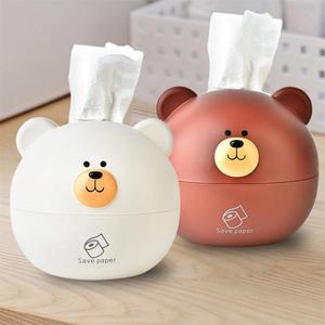 Нордический медведь коробка для салфеток сухая и коробка для влажных салфеток стеллаж для хранения туалетный столик украшение салфеток Ор...