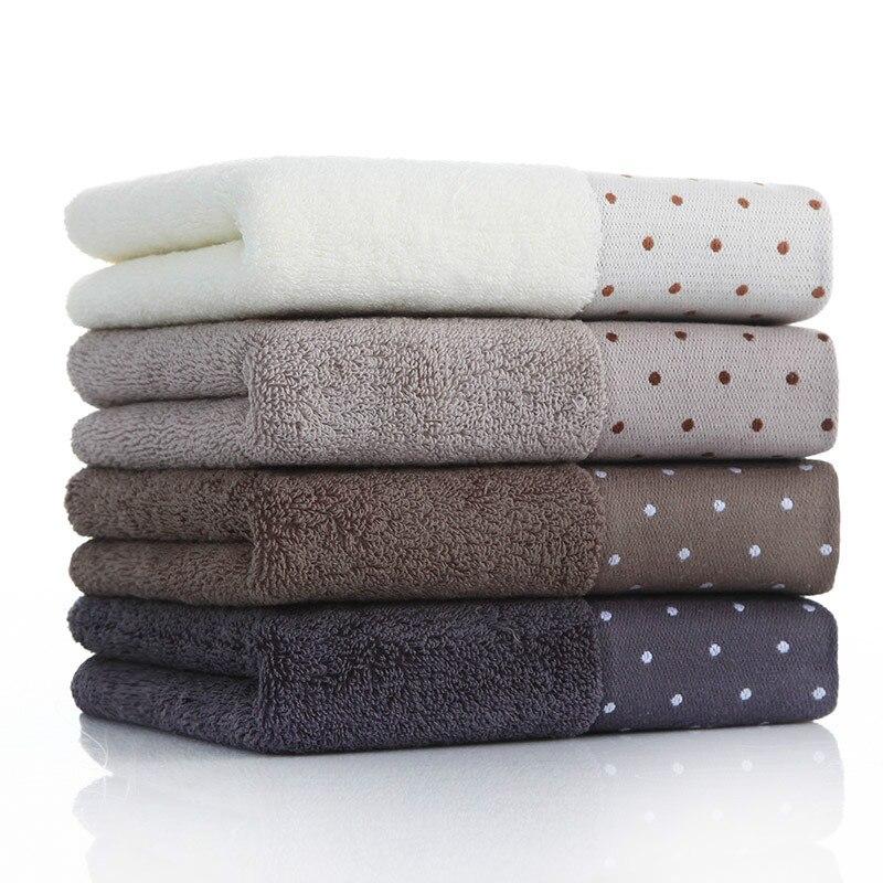 3 шт. полотенца из чистого хлопка для взрослых, для мытья лица, для мужчин и женщин, бытовой мягкий абсорбирующий хлопковый носовой платок бе...