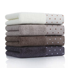 3 pieces of pure cotton towels for adult face wash men and women household soft absorbent non-linting bath cotton handkerchief