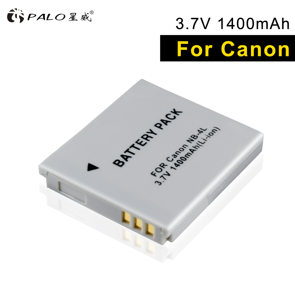PALO NB-4L NB4L NB 4L battery for Canon IXUS 30 <font><b>40</b></font> 50 55 65 80 100 <font><b>120</b></font> 110 115 130 IS117 220 225 Power shot SD1000 1100 camera image